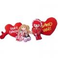 Bonecas e corações