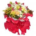 Bouquet com flores do campo