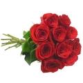Buque com 10 rosas colombianas